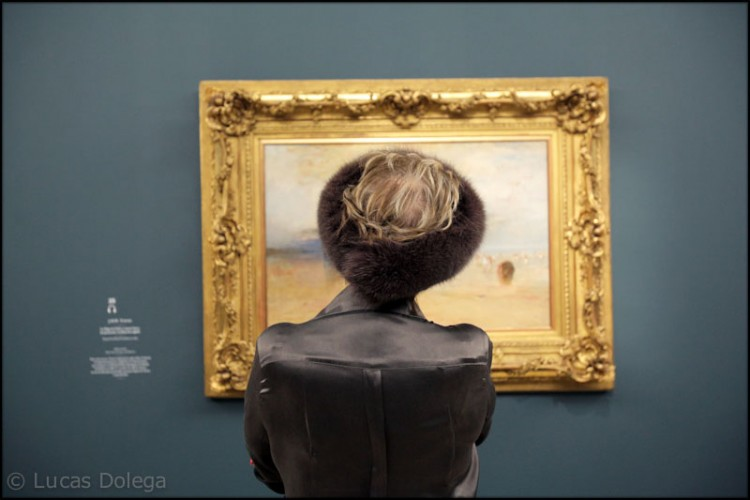 English painter J.M.W. Turner exhibit at the Grand Palais in Paris
