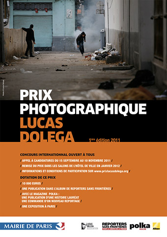Affiche Prix Lucas Dolega I - 2012