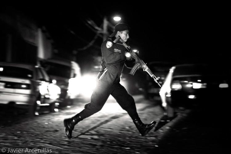 Intervencion Policial en la Colonia San Francisco